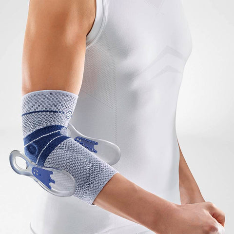 Bauerfeind elbow brace for swollen and painful elbow injuries