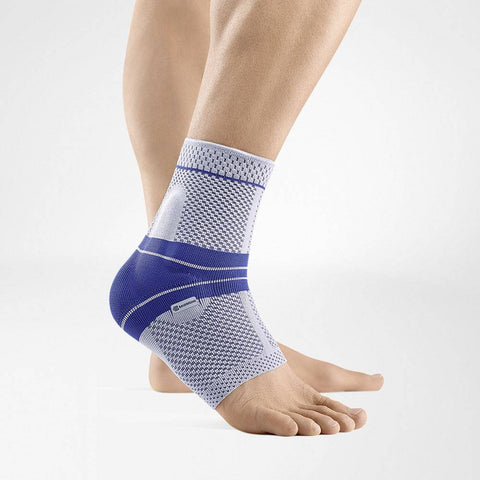 Bauerfeind ankle brace to reduce ankle pain