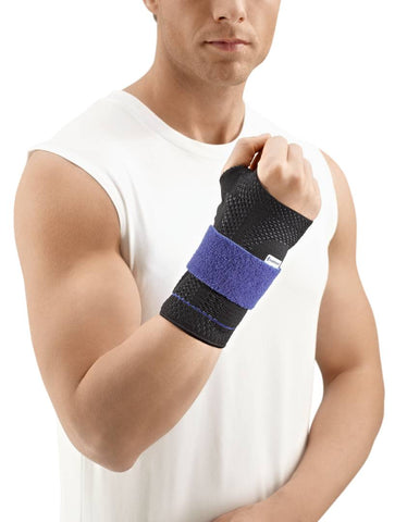 Bauerfeind ManuTrain wrist brace to provide pain relief during movement