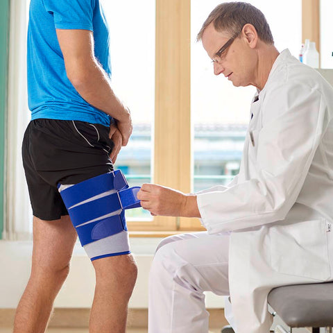 How to treat a corked thigh during sport