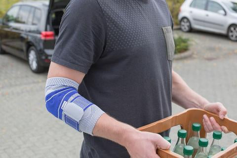 support for irritated elbow
