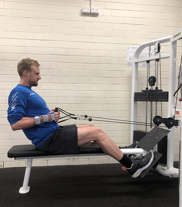 Harry Peacock Wrist Injury Rehab
