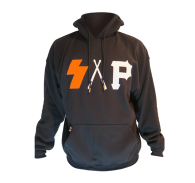 black/orange S.A.P. hoodie