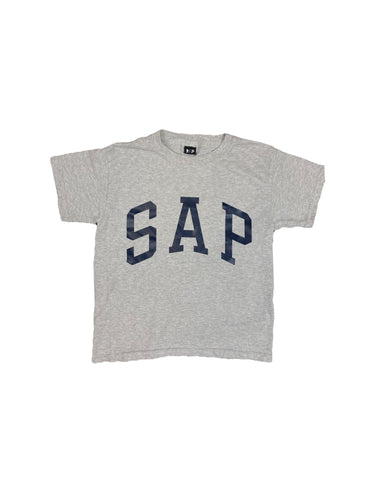 kids sport gray / navy S.A.P. tee