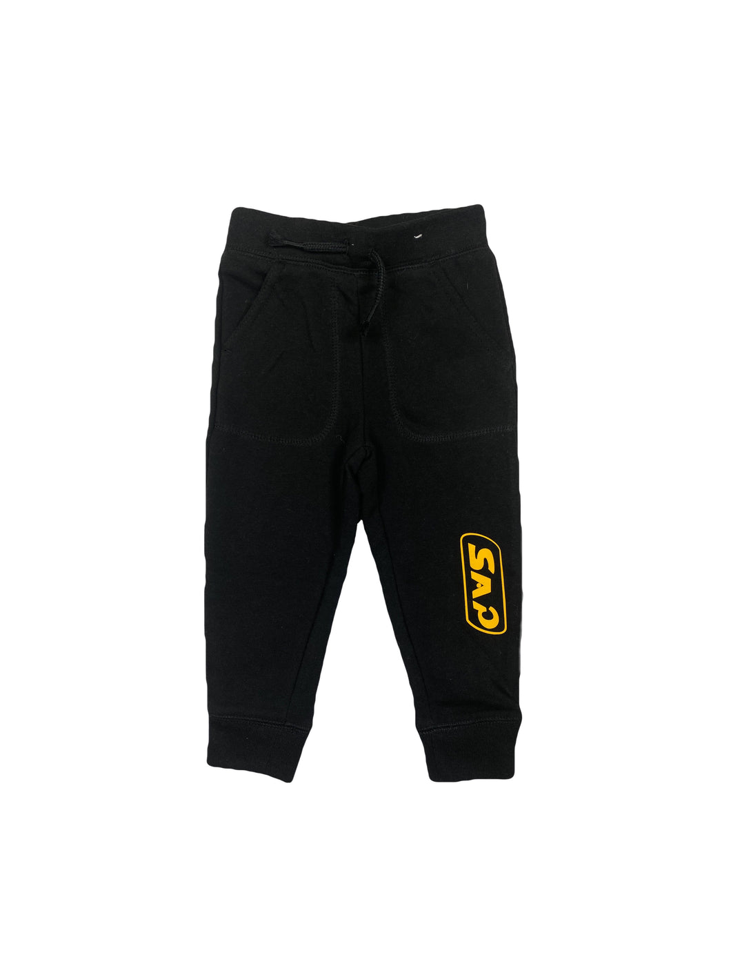 kids black / yellow S.A.P. jogger