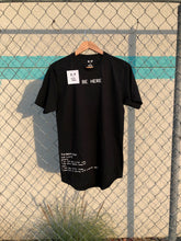 S.A.P. X Kevin Hines be here tomorrow tee black