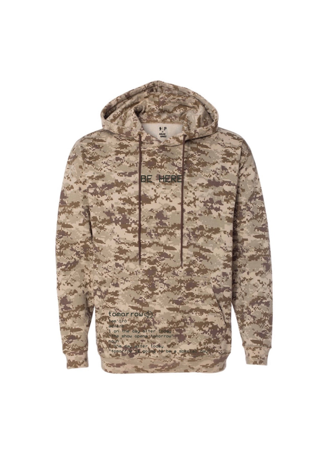 digital camo definition hoodie S.A.P. x Kevin Hines Collaboration