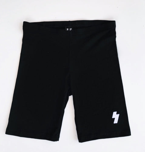 embroidered bike shorts