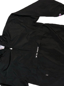 "black S.A.P. x Champion ""you are important"" windbreaker"