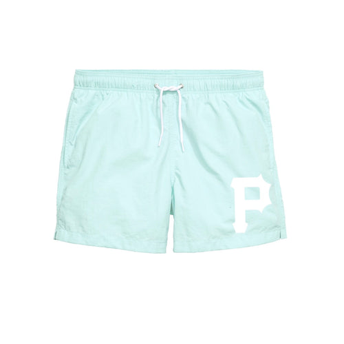 "mint ""P"" swim short"