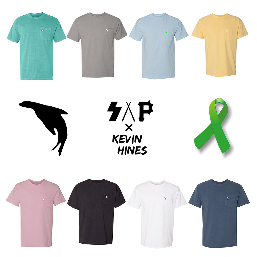 S.A.P. x Kevin Hines Mental Health Month Pocket Tee (multiple colors) pocket tee
