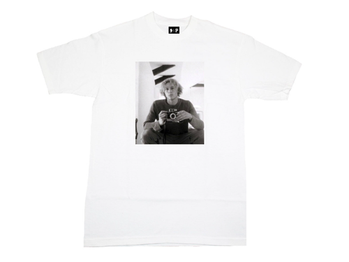 "white ""Heath Ledger"" Tee"