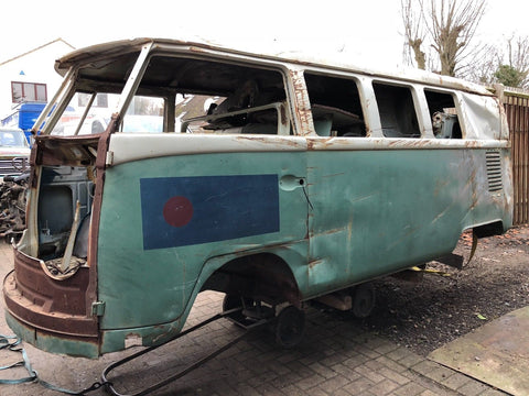 1965 VW Split screen Camper Bus Van Patina Project