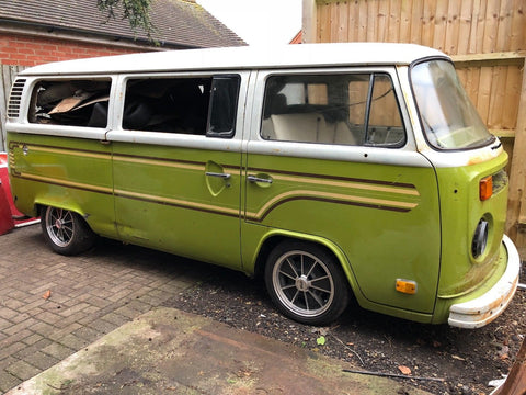 1976 VW Bay window Camper Bus Original Paint
