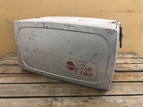 Coca Cola Aluminium Cool Box 1960s