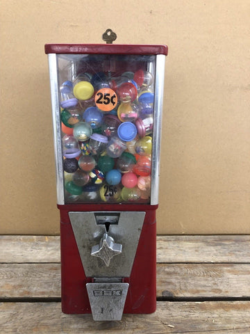 Oak Gumball Machine