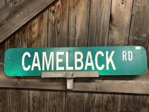 American Street Sign Camelback Road