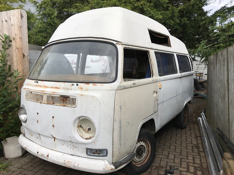 1971 VW Adventure Wagon early Bay Van project