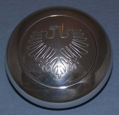 German Eagle Engraved Horn Push