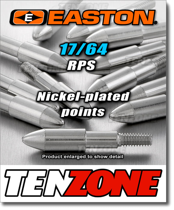 EASTON - RPS Point 17/64 Nickel Plated - 12pk