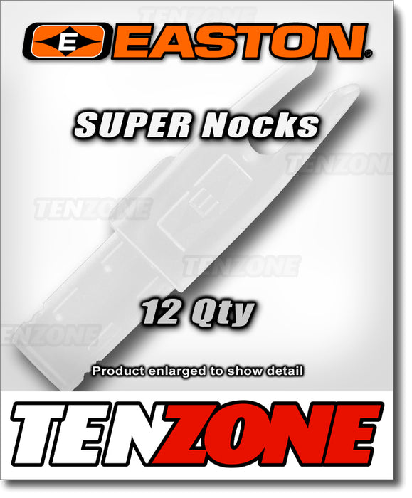 EASTON - Super Nock - 12pk - with Tool