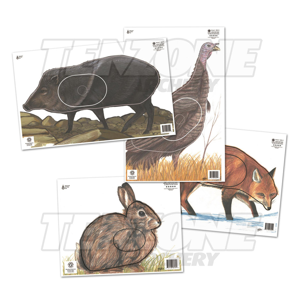 PAPER TARGET - NFAA - Official Animal Targets