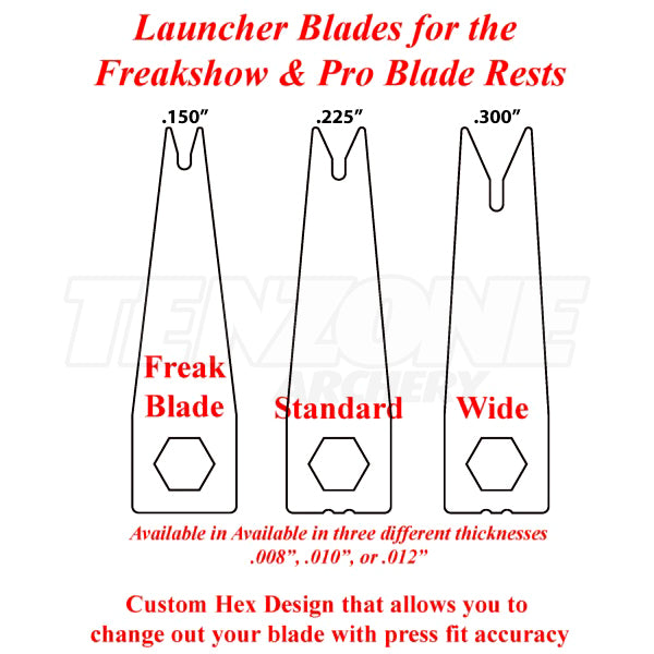 AAE - Pro Blade Replacement Launcher Blade