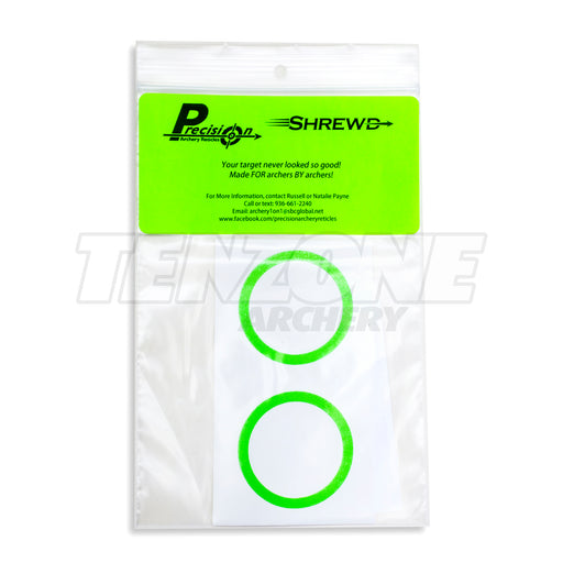 SHREWD - Decal for 29mm Mini Mag Scope - 2pk