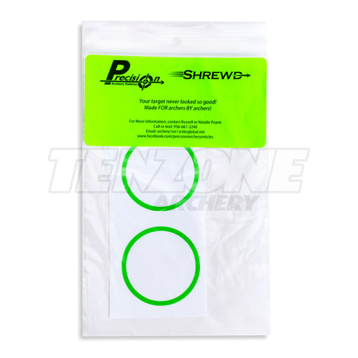 SHREWD - Decal for 35mm Nomad Scope - 2pk