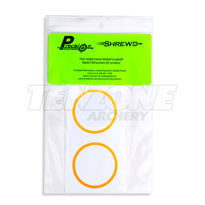 SHREWD - Decal for 42mm Nomad Scope - 2pk