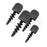 SPIN PIN - Screw-In Target Face Pins - 4 pack