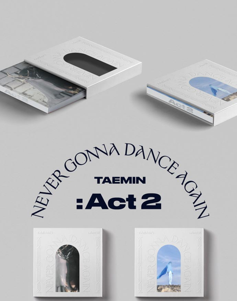Taemin (SHINee) Album Vol. 3 - Never Gonna Dance Again : Act 2