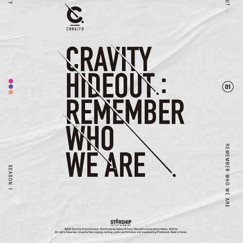 CRAVITY - SEASON1. [HIDEOUT: REMEMBER WHO WE ARE]