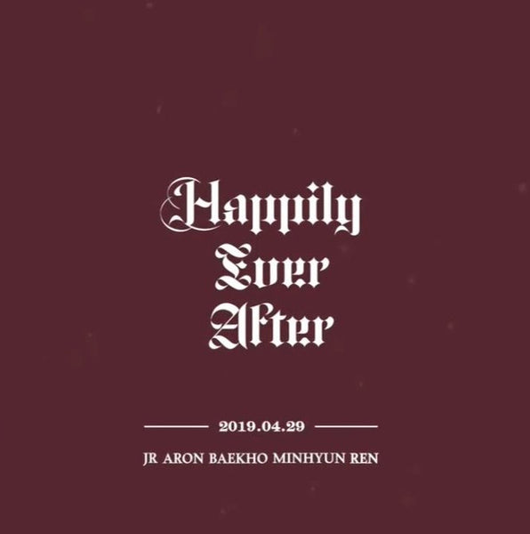 NU'EST - HAPPILY EVER AFTER