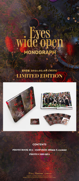 Twice - Eyes Wide Open Monograph