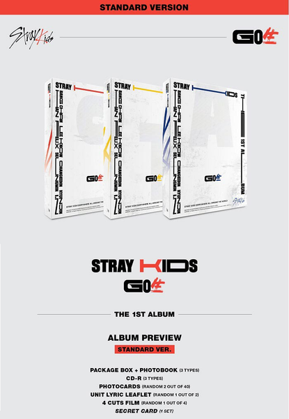 Stray Kids Album Vol. 1 - GO生 (Standard Ver.)