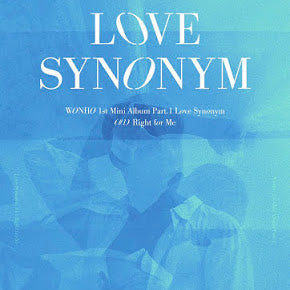 Wonho - LOVE SYNONYM 1. Right For Me
