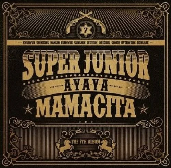 Super Junior Vol. 7 - Mamacita (Version A)