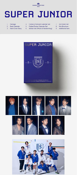 Super Junior - Super Junior 2021 Season's Greetings - [Preventa]