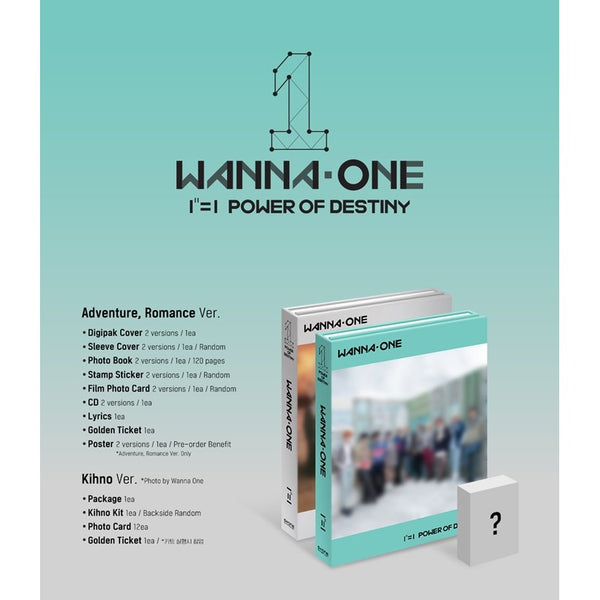 Wanna One - Power of Destiny [Preventa]