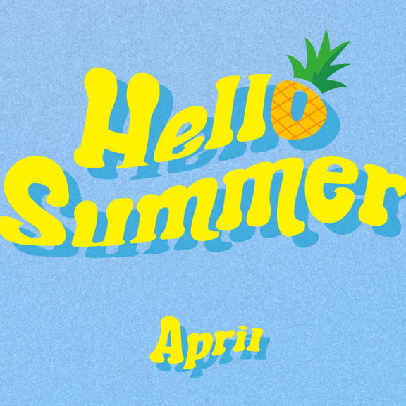 April - Summer Special Album - Hello Summer