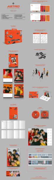 ASTRO 2021 Season's Greetings (Ver. READY) - [Preventa]