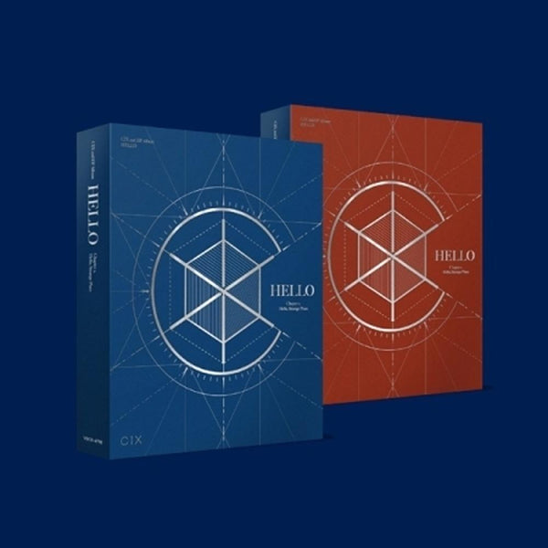 CIX - HELLO Chapter2. [Hello, Strange Place] [PREVENTA]