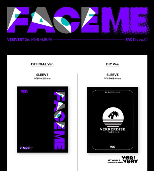 VERIVERY Mini Album Vol. 3 - FACE ME