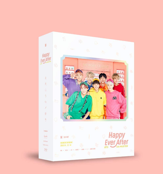 BTS 4TH MUSTER [HAPPY EVER AFTER] Bluray