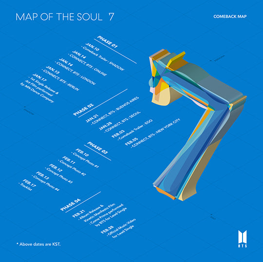 BTS - Map of the Soul 7 [Preventa]