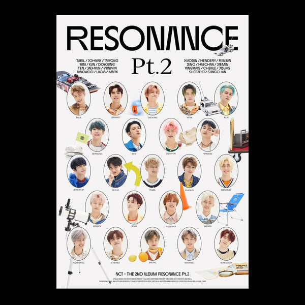 NCT - The 2nd Album RESONANCE Pt.2 Depature ver.