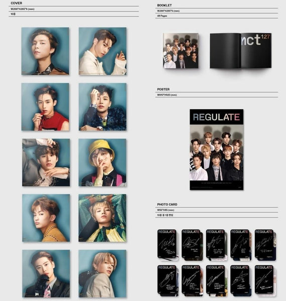 NCT 127 Vol. 1 (Repackage) - NCT 127 REGULATE