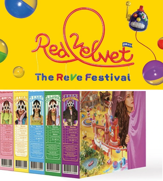 Red Velvet Mini Album Vol. 6 - 'The ReVe Festival' Day 1 (Day  Version)
