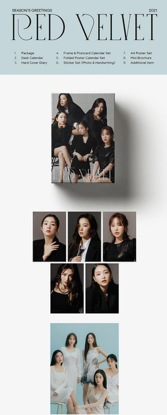 Red Velvet - Red Velvet 2021 Season's Greetings - [Preventa]